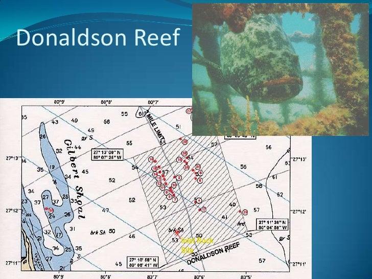 Florida Artificial Reefs Map.Martin County Florida Artificial Reef Program