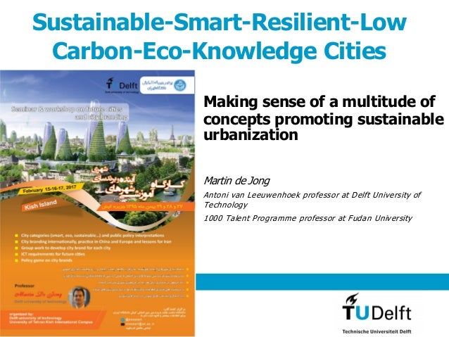 Sustainable-Smart-Resilient-Low Carbon-Eco-Knowledge Cities Making sense of a multitude of concepts promoting sustainable ...