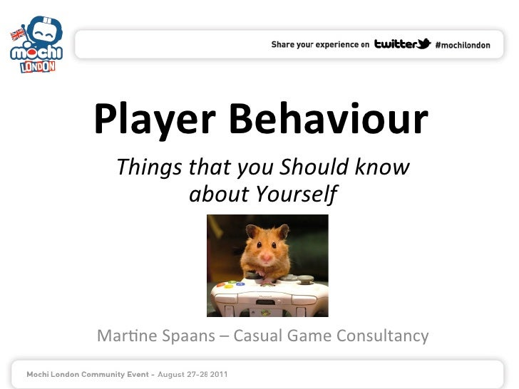 Player Behaviour    Things that you Should know              about Yourself                            ...