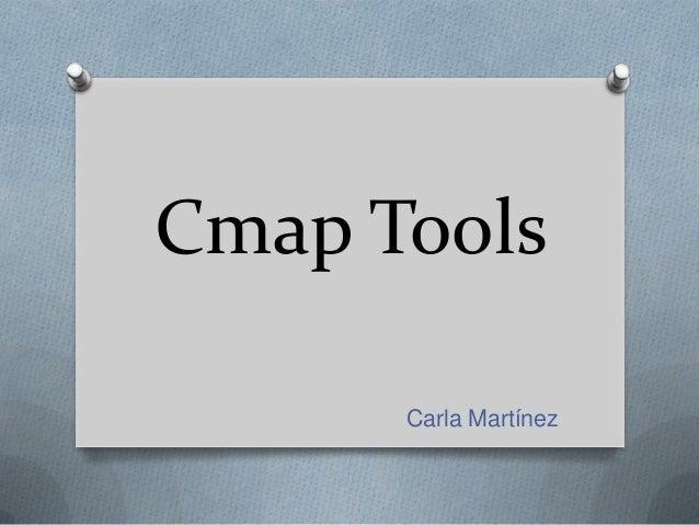 Cmap Tools Carla Martínez