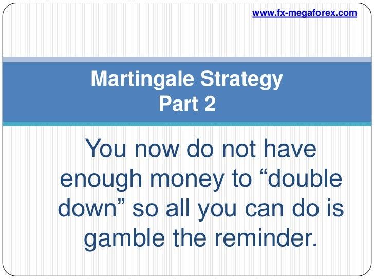 Binary options trading martingale
