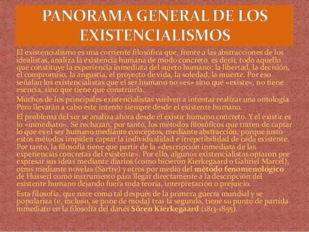 El existencialismo y Heidegger Slide 3