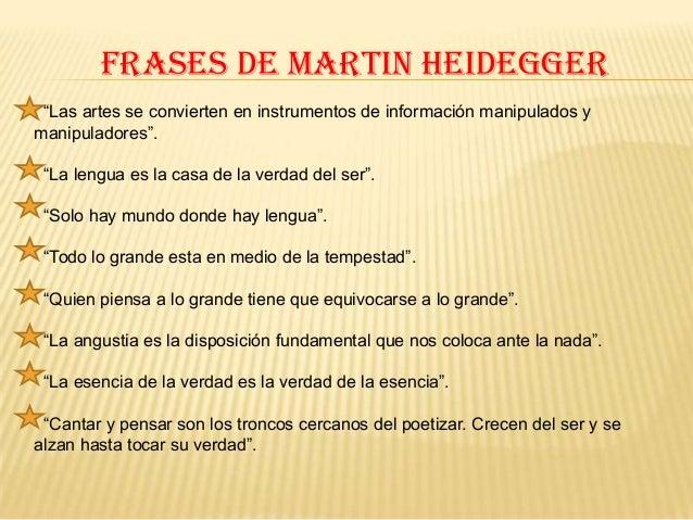 Martin Heidegger En Educagratis Curso De Su Vida Y Obra
