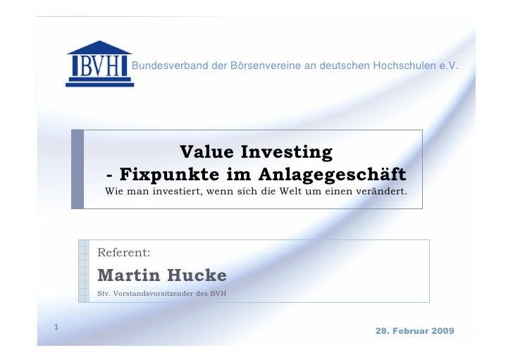 Bundesverband der Börsenvereine an deutschen Hochschulen e.V.                           ...