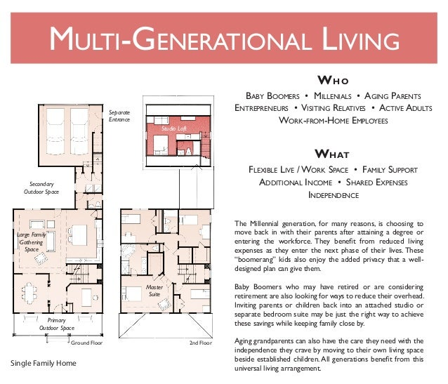 Multi Generational Living : Multi-Generational Living