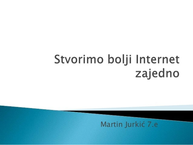 Martin Jurkić 7.e
