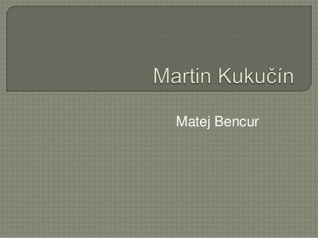 Matej Bencur