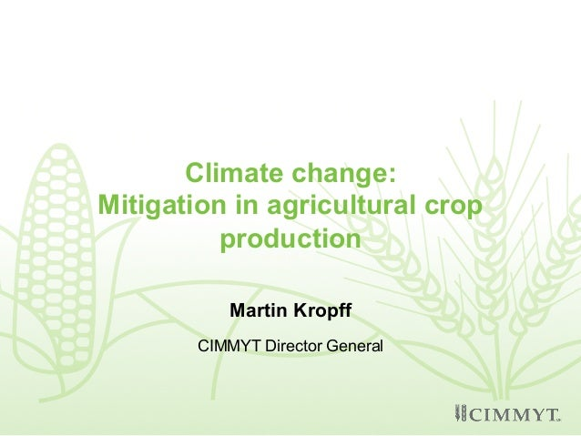 Climate Impacts on Agriculture and Food Supply