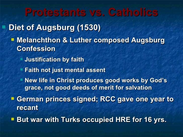Catholic church vs martin luther