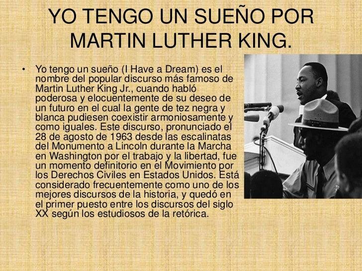 Tag Martin Luther King Discurso Yo Tengo Un Sueno