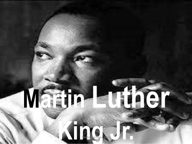 Martin Luther King Jr. Madalena Kuma 2013