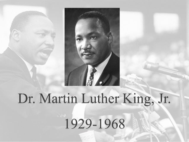 Who is Martin Luther King Jr. Exceptional public speaker. Born in Jan 15 1929. American Baptist minister and activist. Lea...