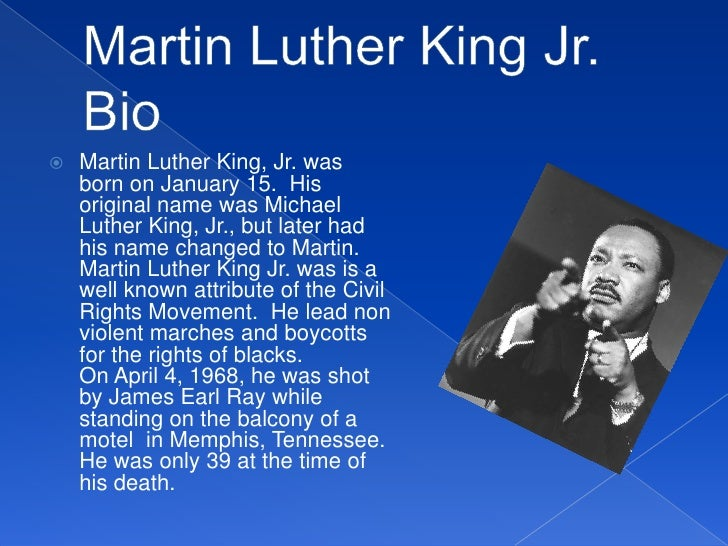 Martin Luther King Jr. Tribute