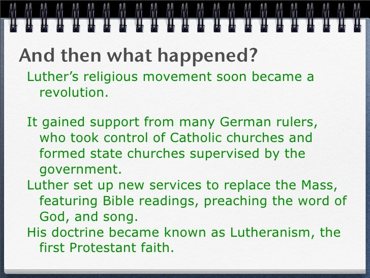 martin luther reformer or revolutionist essay Protestant reformation: martin luther's 95 help you need with your essay and luther's protestant reformation was an accidental revolution.