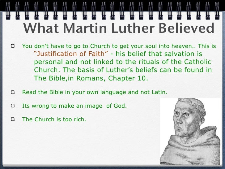 martin luther's break away from the Find out more about the history of martin luther and the 95 theses, including  videos, interesting articles, pictures, historical features and more get all the facts .