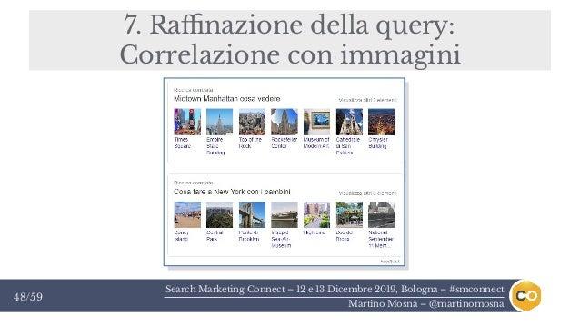 Search Marketing Connect – 12 e 13 Dicembre 2019, Bologna – #smconnect Martino Mosna – @martinomosna 48/59 7. Raffinazione...