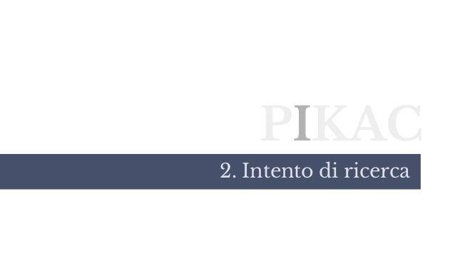 PIKAC 2. Intento di ricerca