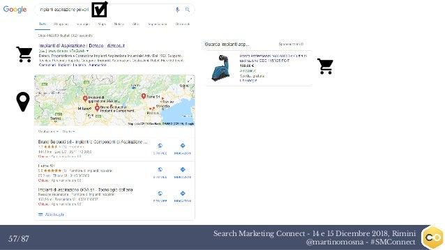 Search Marketing Connect - 14 e 15 Dicembre 2018, Rimini @martinomosna - #SMConnect57/87