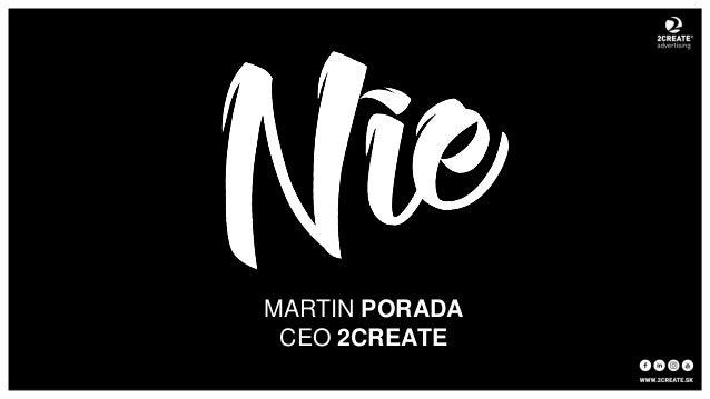 MARTIN PORADA CEO 2CREATE