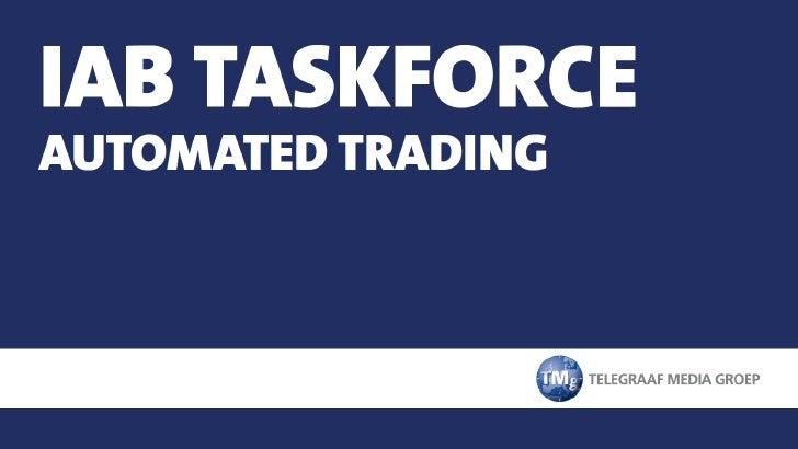 Martin van der Meij - De zin en onzin omtrent Automated Trading