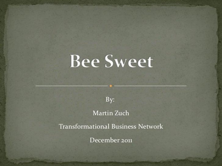 By:  Martin Zuch Transformational Business Network December 2011