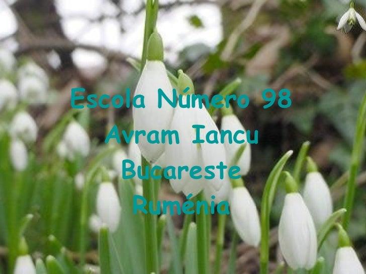 Escola Número 98 Avram Iancu Bucareste Ruménia