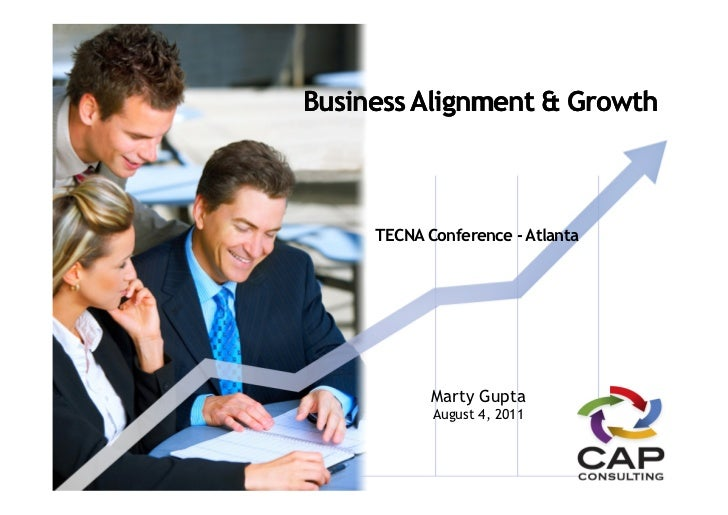 Business Alignment & Growth     TECNA Conference - Atlanta            Marty Gupta            August 4, 2011