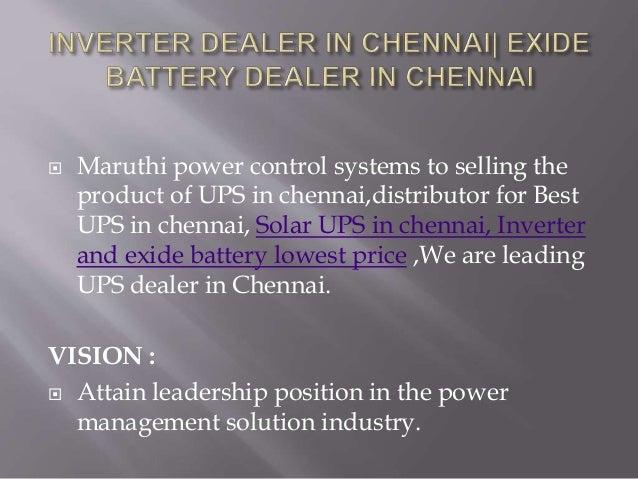 Exide battery dealer in Chennai   CCTVcamera price in Chennai  solar …