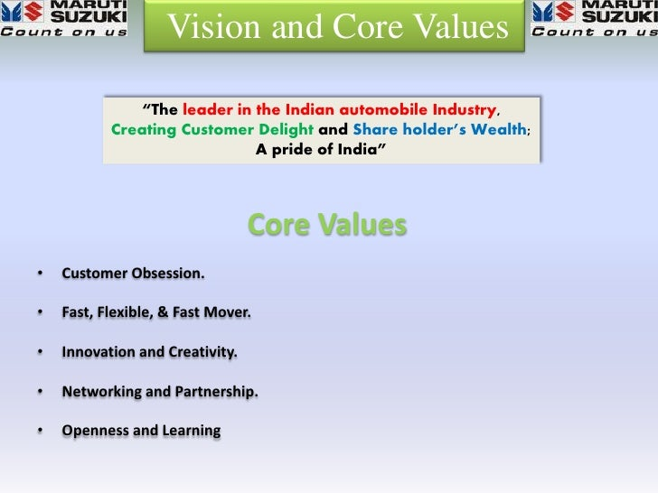Suzuki Core Values