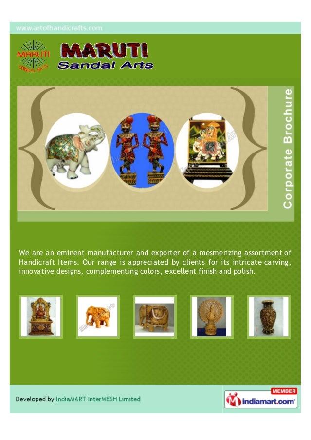 Maruti Sandal Arts Jaipur Wooden Handicrafts