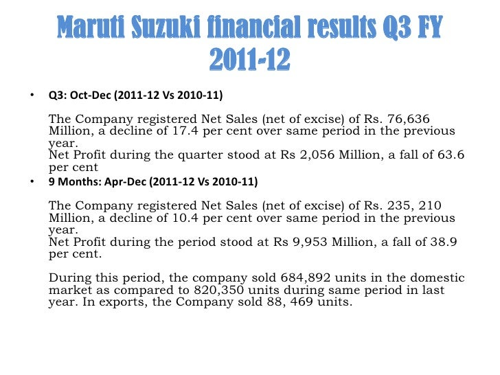 strategic management process of maruti suzuki Today due to innovative marketing strategies maruti suzuki has become the leading & largest seller of automobiles in india company has adopted various brand positioning, advertising, distribution.