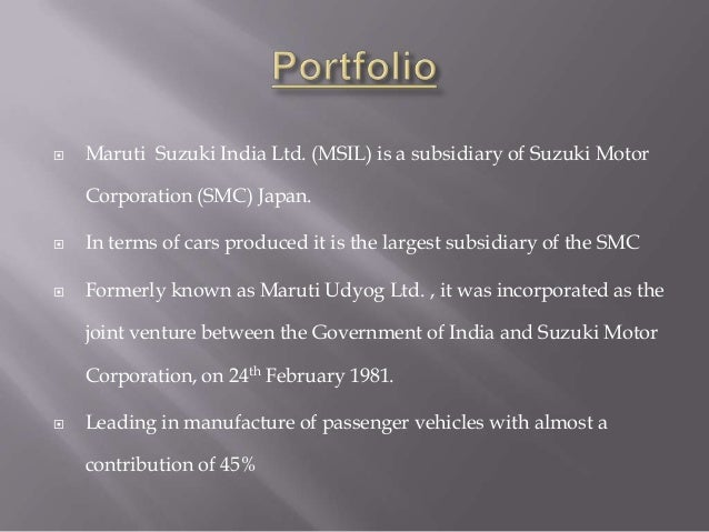 csr activites of maruti suzuki Under csr initiative, maruti suzuki sets up water atms the government came out with an order making corporate social responsibility (csr) what are some of the other community development activities that msil is undertaking.