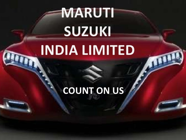 globalization of maruti suzuki india ltd Mention all references/bibliography maruti udyog introduction of the maruti udyog:  maruti suzuki india ltd, formerly known as maruti udyog, is the one of the oldest car manufacturers in india the company has written 28 years old history in the rich indian heritage  maruti suzuki india limited is a partial subsidiary of suzuki.