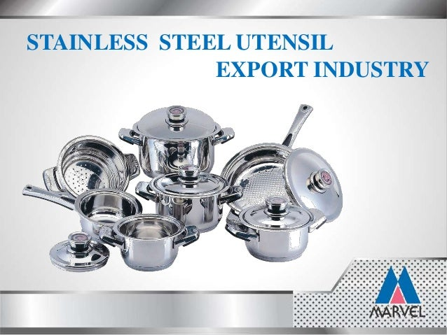 Steel Products Manufacturing : Marvel india leading stainless steel products