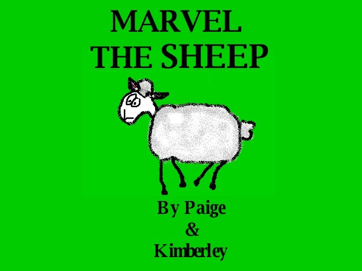 MARVEL  THE  SHEEP By Paige & Kimberley