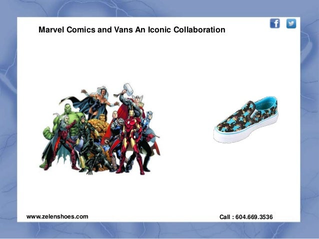 Marvel comics and vans an iconic collaboration - 웹