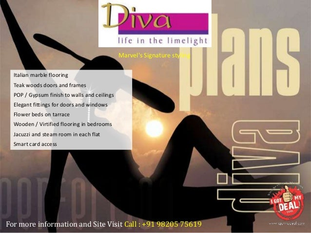 Marvel Diva 2 Hadapsar Pune Price Brochure Rates Review