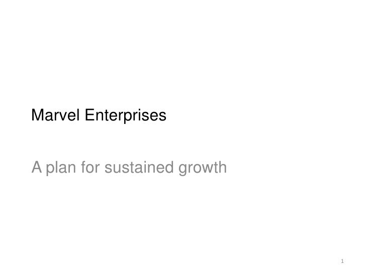 marvel enterprises inc hbs answer Marvel case presentation from hbr case • toys inc took over marvel takeover after it filed for bankruptcy marvel enterprises.