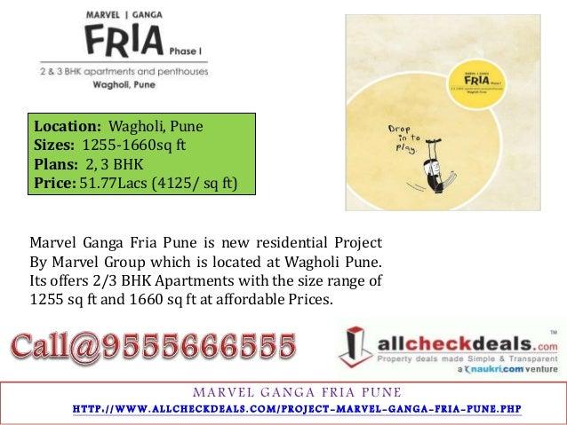 Marvel Ganga Fria Pune – Residential Apartments 9555666555 Slide 3