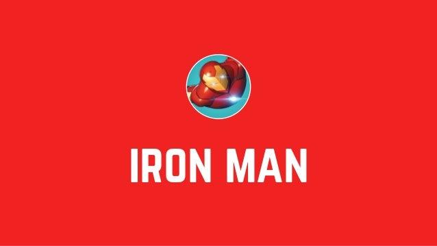 "iron man Real name: Height: Weight: Occupation: Origin: Tony Stark Place of birth: 6'1"" 225 lbs Long Island, New York Geni..."