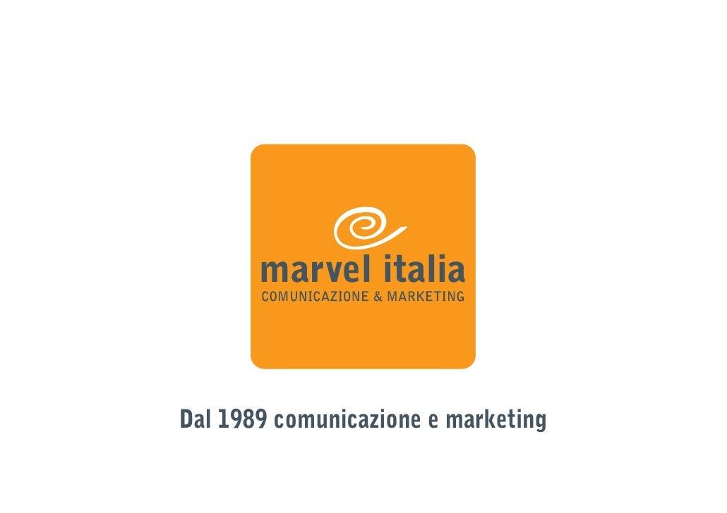 marvel italia   Dal 1989 comunicazione e marketing