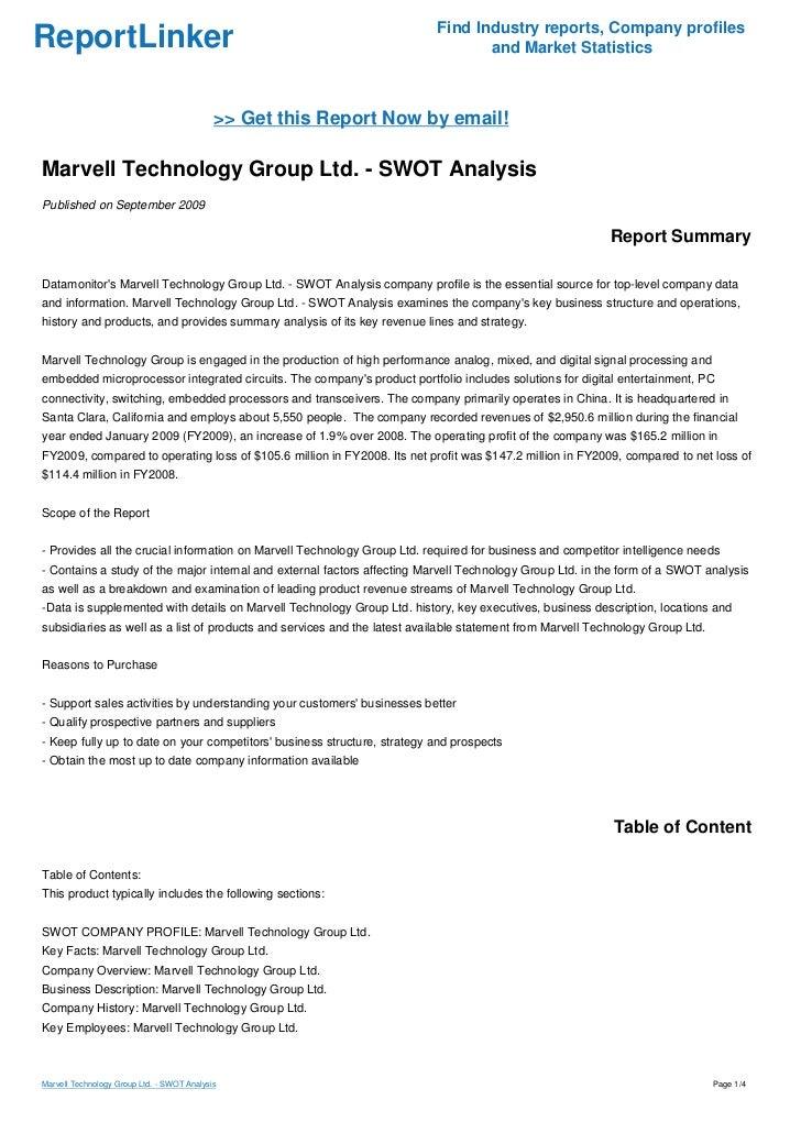 Information Technology Analysis