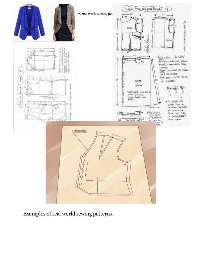 Marvelous Designer clothing patterns vs sewing patterns