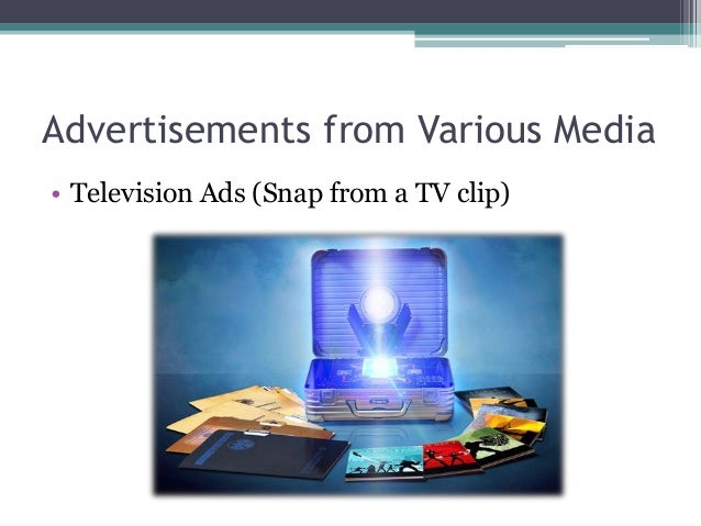 Advertisements from Various Media • Outdoor Ads (Billboards/Banners/Posters)