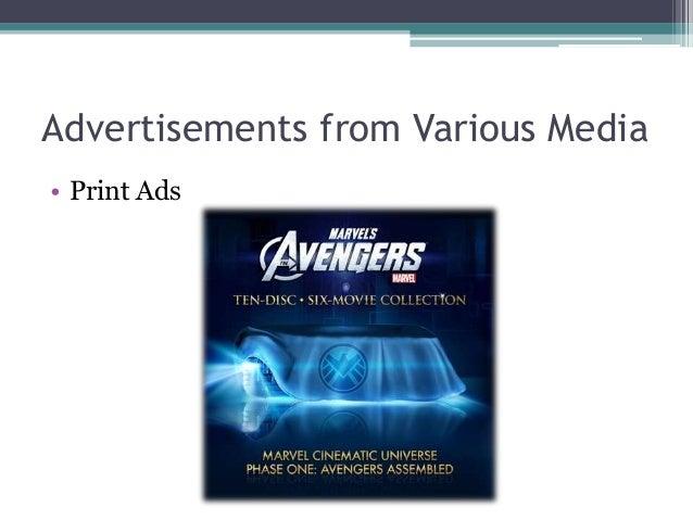 Advertisements from Various Media • Digital Media Ads