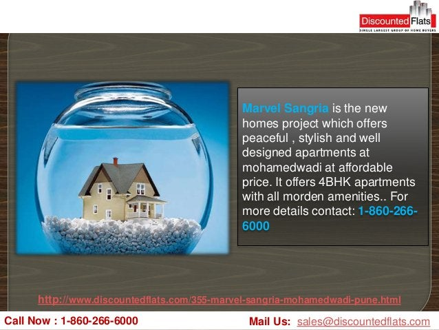 Marvel Sangria is the new                                             homes project which offers                          ...
