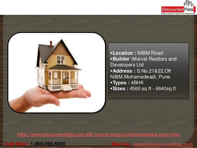 Location : NIBM Road                                            Builder :Marvel Realtors and                            ...