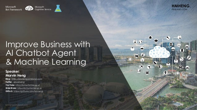 AI/ML/DL: Improve Business with AI Chatbot Agent & Machine