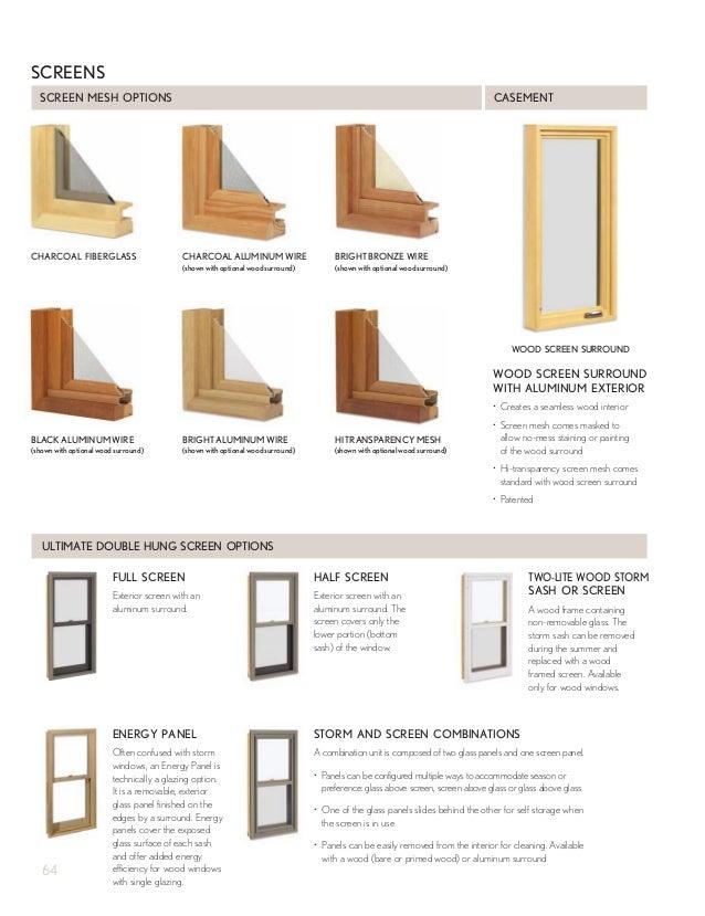 marvin window screens aluminum surround 66 retractable screen marvin windows and doors product catalog