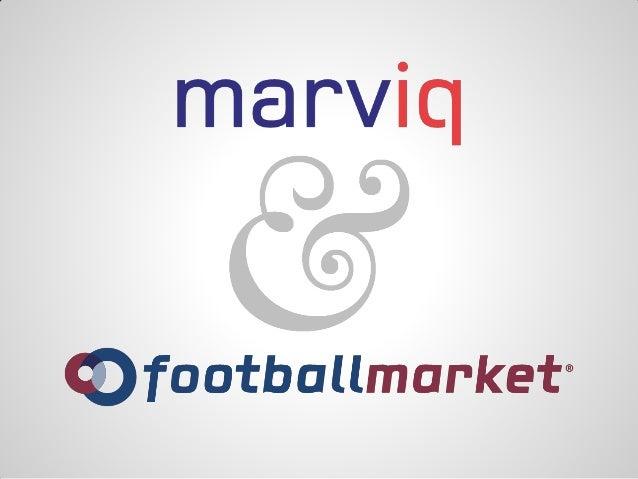 Agenda•   Wat is FootballMarket?•   Demo FootballMarket•   FootballMarket the good parts